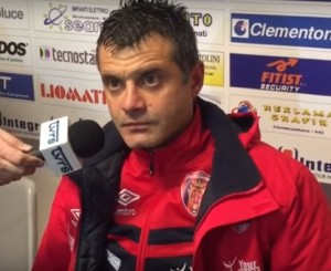 Il vice-allenatore dei lupi, Antonello Corradino