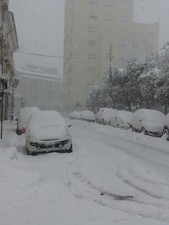 L'incrocio di Corso Vittorio Emanuele a Campobasso (foto Mario Annuario)