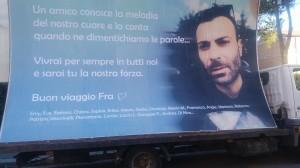 La 'vela' in memoria di Francesco Civerra