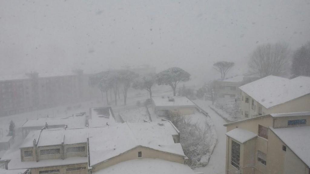 Veduta dall'alto di Parco dei Pini (foto Carmine Scarinci)