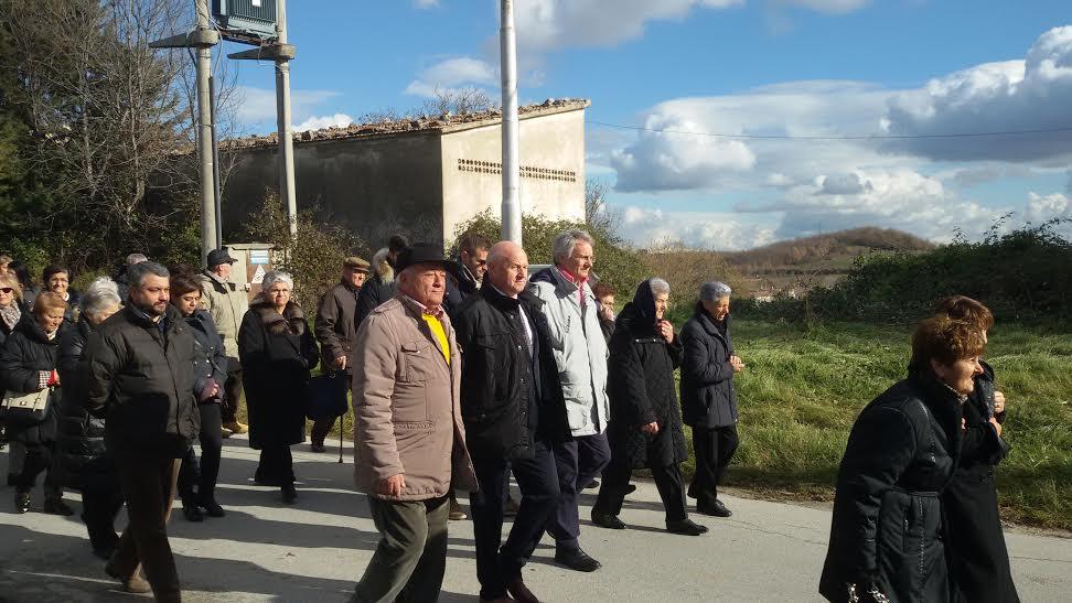 Il sindaco Battista e l'ex consigliere regionale Tamburro