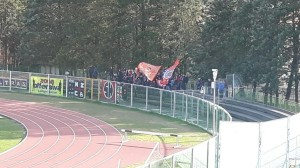 I tifosi del Campobasso presenti all'Angelini