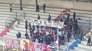 I tifosi del Campobasso ricordano Francesco Civerra