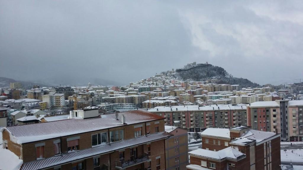 Veduta di Campobasso (foto Carmine Scarinci)