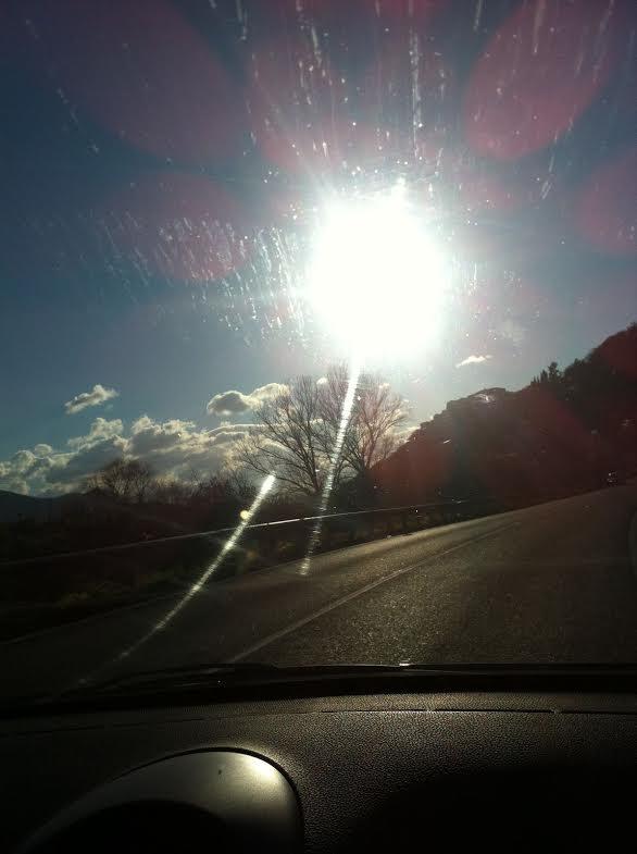 A Venafro splende il sole