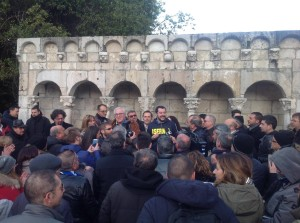 La visita di Salvini a Isernia