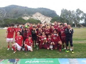 La formazione juniores dell'Olympia Agnonese si aggiudica la tredicesima edizione del torneo internazionale Pisa World Cup riservato alle categorie giovanili