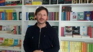 Andrea Ortis, autore, regista e attore del 'Vajont di tutti', l'opera teatrale che ha riscosso a Campobasso, al 'Savoia', una grande partecipazione di pubblico e un successo, in termini di critica