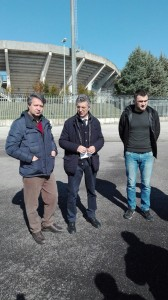 La conferenza stampa dell'assessore Maio con Trivisonno e Libertucci