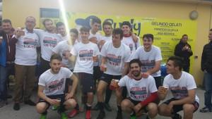 La juniores nazionale del Campobasso festeggia il primo posto nella 'regular season'