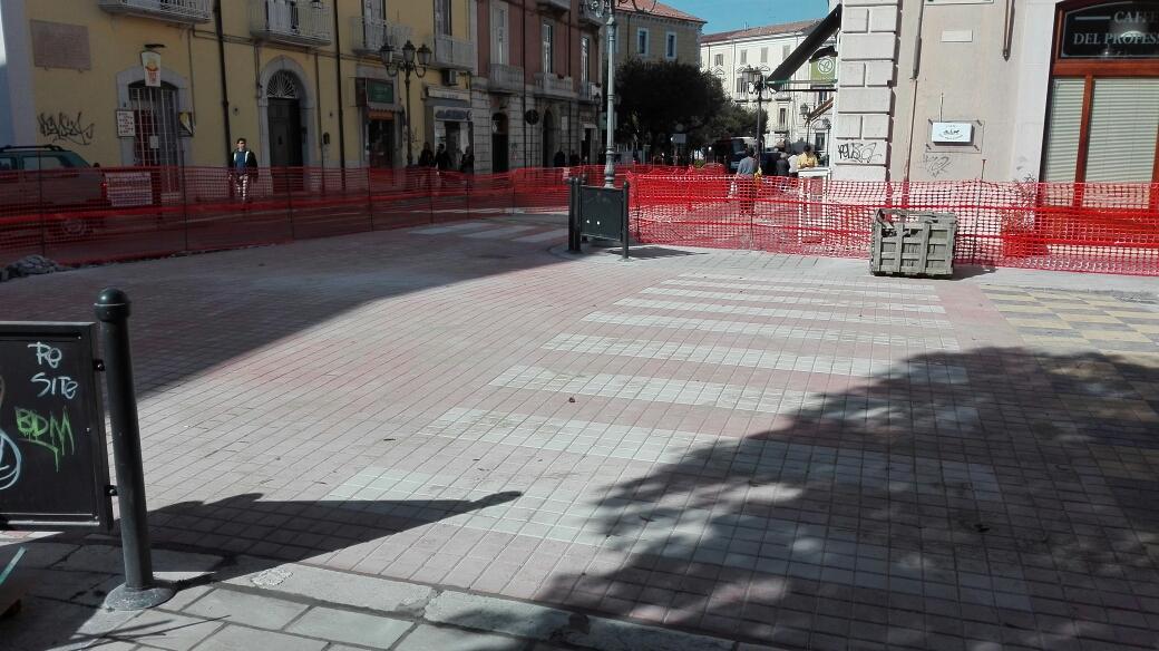 Photo of Al via i lavori di rifacimento degli attraversamenti pedonali su Corso Vittorio Emanuele. Tutte le limitazioni al traffico
