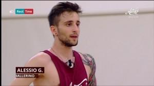 Il ballerino Alessio Gaudino
