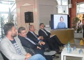 Un momento della presentazione del libro a Matera