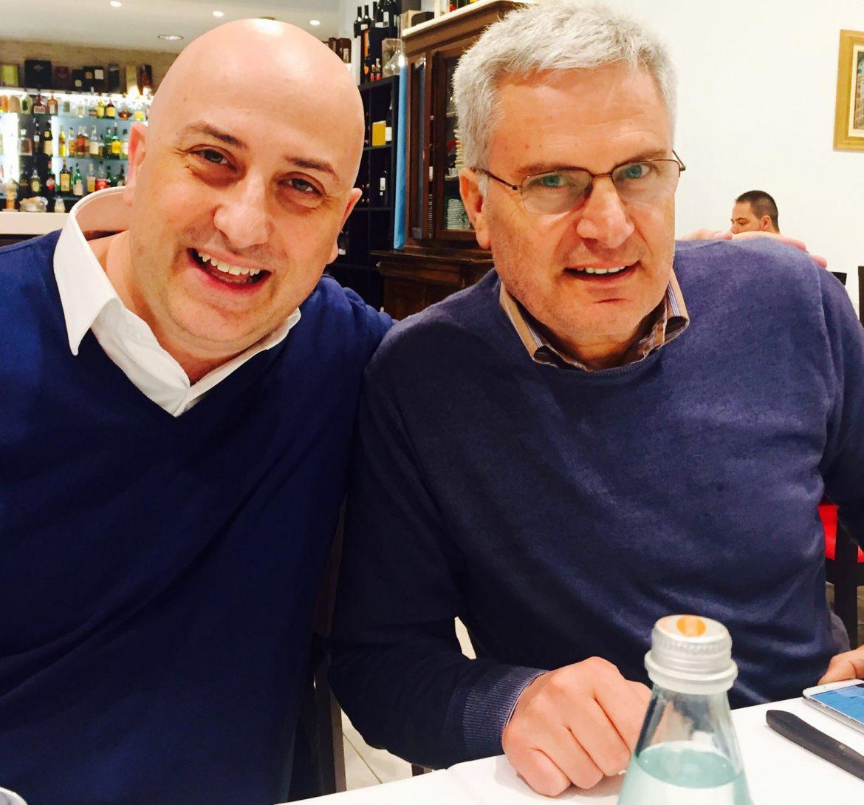 L'avvocato Luigi Iosa e Gennaro Buccile, presidente onorario della SOS Utenti e guru della giurimetria bancaria