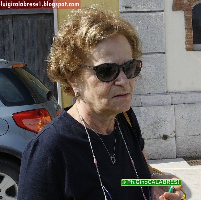 La professoressa Giuseppina Sallustio, presidente della giuria popolare del concorso letterario