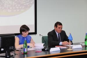 Gli eurodeputati Aldo Patriciello e Lara Comi