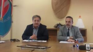 Il presidente Frattura e l'assessore Nagni
