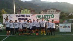 Un gruppo di Pulcini della Virtus Bojano 2016/2017
