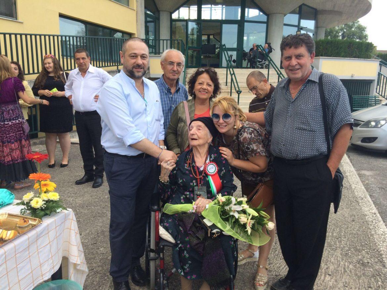 Nonna Nina festeggiata a Bojano
