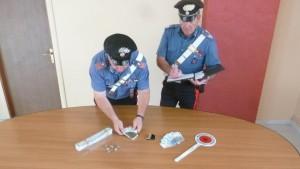 La droga sequestrata dai carabinieri di Larino