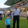 Ferdinando Maggiani, allo stadio in occasione del memorial 'Gino Scasserra'
