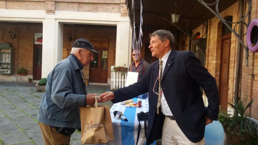 Unicef, Lino Banfi testimonial della Festa dei Nonni