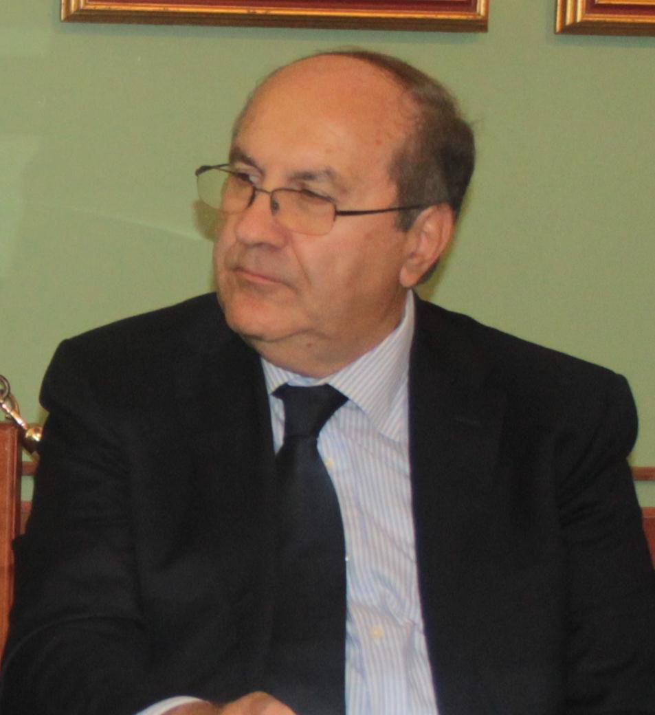 Il presidente della Figc/Lnd Molise, Piero Di Cristinzi