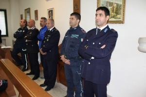 """Alcuni agenti della Polizia Penitenziaria di Campobasso durante il """"Giubileo dei carcerati"""""""