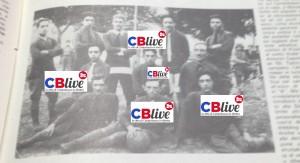 La prima foto di una squadra di calcio di Campobasso (1917)