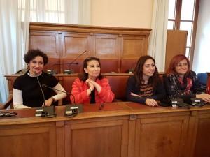 Le 'quote rosa' a Palazzo San Giorgio: Viola, de Capoa, Salvatore e Chierchia