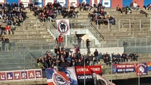I tifosi del Campobasso nel match contro l'Agnonese