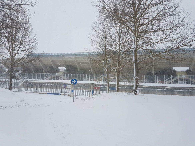 stadio campobasso neve