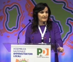 L'intervento di Micaela Fanelli a Rimini