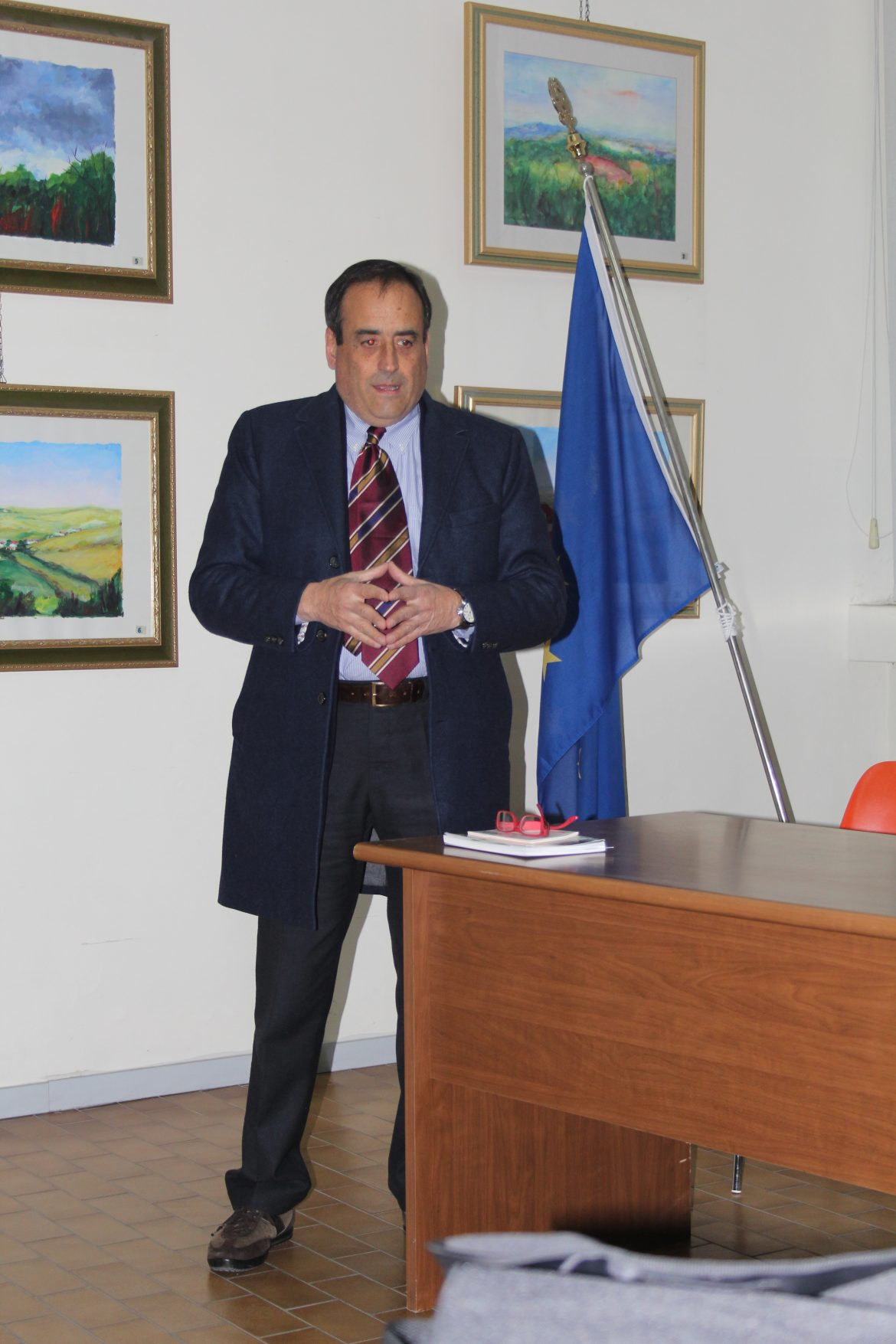 Il presidente della Maronea, Nicola Sabetta