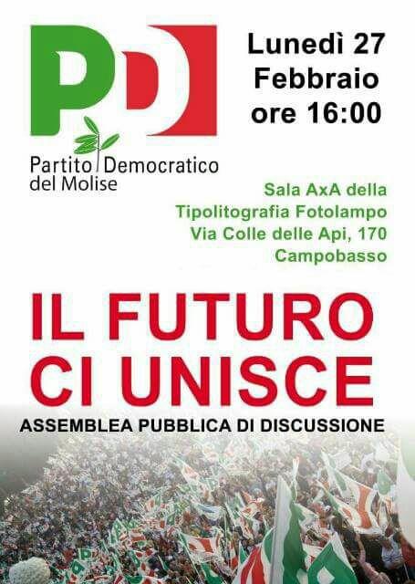 assemblea pd manifesto
