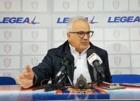 Massimo Silva, allenatore del Campobasso