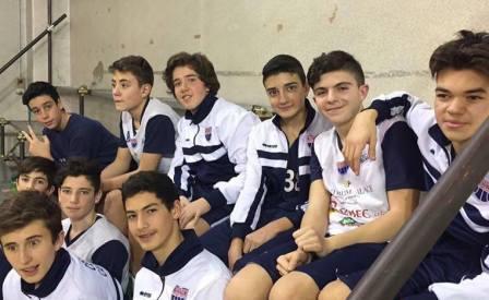 squadra under 14 Cestistica CB