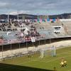 I tifosi della Curva Nord nel match contro la Vastese