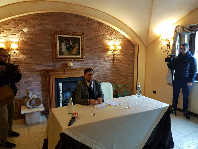 L'assessore regionale Vittorino Facciolla