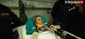 Rita Sverdigliozzi intervistata in ospedale da IlMessaggerotv