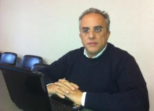 Il giornalista Giuseppe Di Pietro