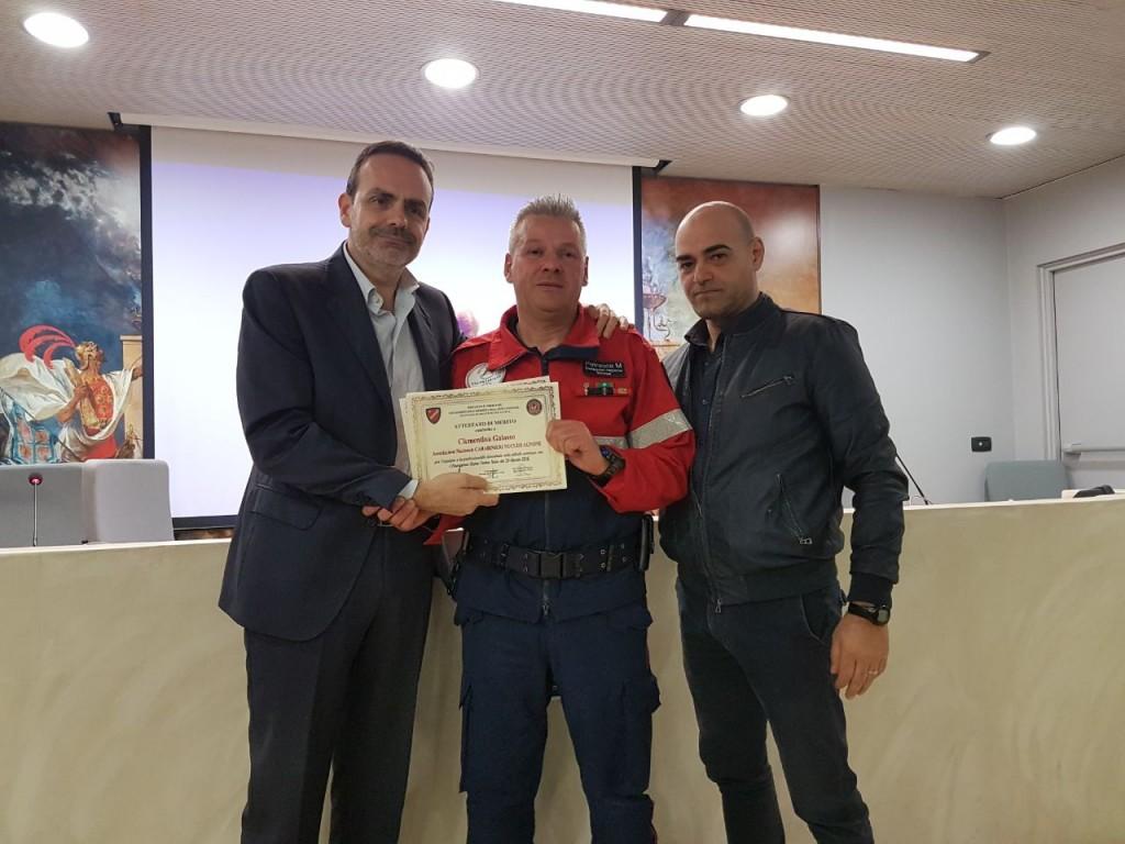 attestati di merito associazioni protezione civile amatrice 18