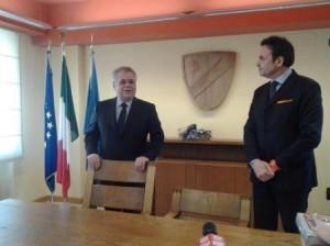 I due governatori che si sono succeduti nel 2013: Iorio e Frattura