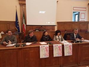 Gli assessori de Capoa e Maio con la professoressa Tassinari, Poleggi e Nocera