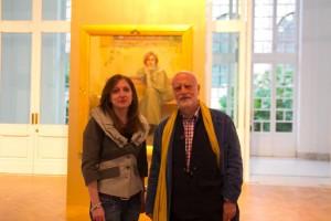 Laura Venezia e Ferdinando Scianna alla Galleria Nazionale di Roma