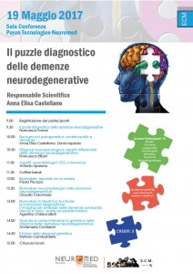 Locandina demenze 19 maggio 2017 neuromed