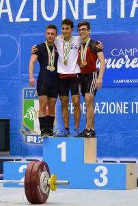 Donato Mastrangelo ha vinto il titolo italiano