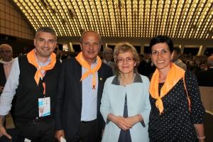 Pietracupa, Di Padro e Maglione, insieme alla senatrice Cattaneo