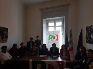 conferenza stampa pd fanelli