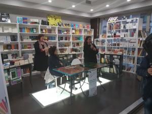L'assessore Emma de Capoa con Francesca Scopelliti